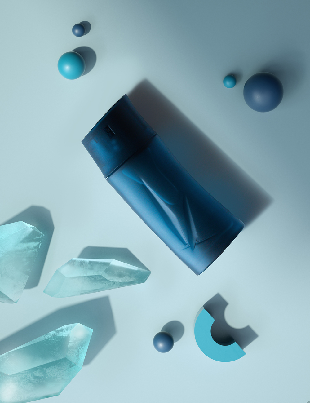 01_Kenzo_Balls And Ice Shapes